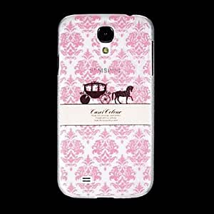 LIMME Cartoon Pumpkin Back Cover Transparent Plastic for The Samsung Galaxy S4 I9500