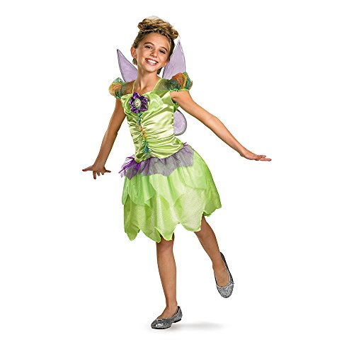 Tinkerbell Halloween Costumes For Kids (Tinker Bell Rainbow Classic Costume - Small (4-6x))