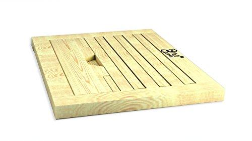 Book Stand Recipe Holder Large Wood 3 Position Adjustable