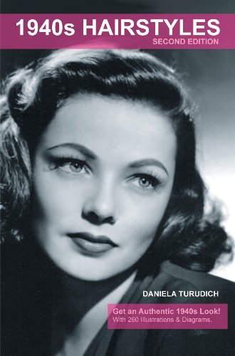 1940s Hairstyles (Vintage Living) by Daniela Turudich