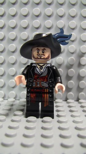 LEGO Minifig Pirates of the Caribbean_004 Hector Barbossa_A -