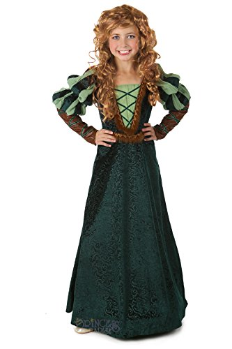 [Princess Paradise Child Forest Princess Costume, Small] (Incredible Hulk Costume Ideas)