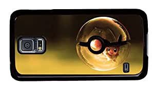Hipster Samsung S5 Cases online pokemon ball PC Black for Samsung S5