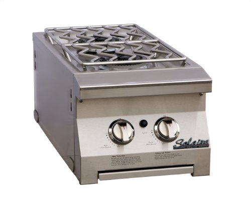 Solaire Double Side Mount Side Burner for Solaire 30 and 42-