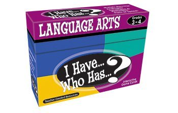 (I Have Who Has Language Arts Games Gr 3-4)
