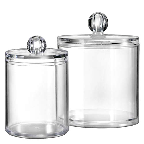 Bathroom Organizer Canister Apothecary Blenders