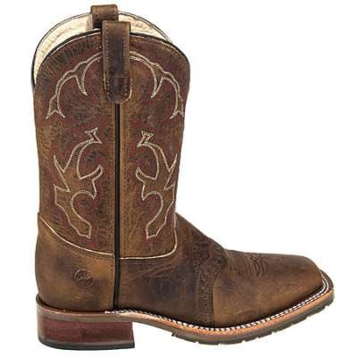 Double H Boots: Men's DH3560 Square Toe USA-Made 11-Inch Cowboy Boots - Cowboy Boots - Men's Work Boots - Footwear