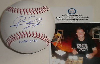 Robbie Ross Boston Red Sox Autographed Signed MLB Baseball SidsGraphs