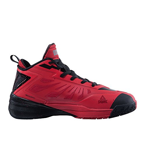 Picco Mens Pazzo Veloce Fulmine Iii Scarpe Da Basket Professionali Rosso / Nero