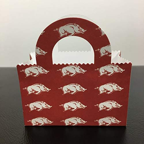 Arkansas Razorbacks Party Bag, Favor Bag, Gift Card Holder, Money Holder