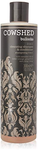 Cowshed Bullocks 2-in-1 Cleansing Shampoo & Conditioner for Men, 10.15 Ounce