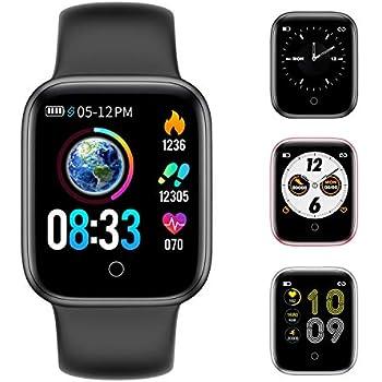 Amazon.com: HX0945 IWO 8 PRO T5 Smart Watch Changeable Strap ...