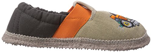 Giesswein Arzberg - pantuflas de lana niño Beige (Sesam)