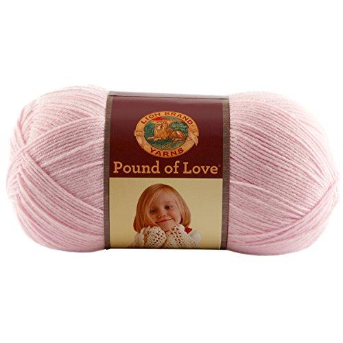 (Lion Brand Yarn Hometown Yarn, Pastel Pink)