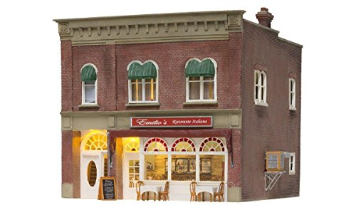 Woodland Scenics N Scale Emilio's Italian Restaurant for sale  Delivered anywhere in USA