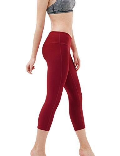 """Yoga Products : Tesla Yoga 21""""Capri Mid-Waist Pants w Hidden Pocket FYP31"""
