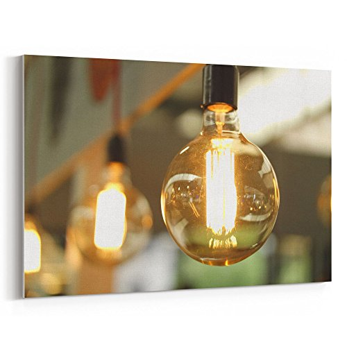 12 Light Chand - Westlake Art - Light Bulb - 12x18 Canvas Print Wall Art - Canvas Stretched Gallery Wrap Modern Picture Photography Artwork - Ready to Hang 12x18 Inch (65DA-D1FD5)