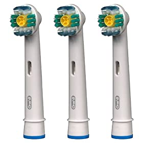 【正規品】 ブラウン オーラルB 電動歯ブラシ 替ブラシ ステイン(着色汚れ)除去ブラシ 3本入り EB18-3-EL