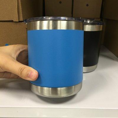 soleditm 1 pc 300 ml vaso de acero inoxidable con ...