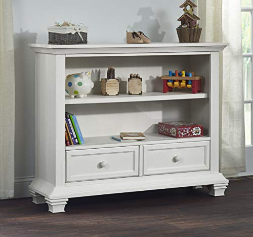 (Oxford Baby Cottage Cove Low Bookcase, Vintage White)