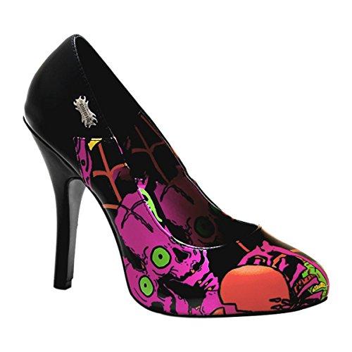 Demonia - Zapatos de vestir para mujer Schwarz