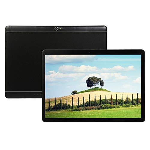 Android Tablet PC 10 inch, Octa-Core Processor, 4GB RAM, 64GB ROM, 5G-WIFI,Bluetooth, GPS, IPS HD Display, V4 (Black)