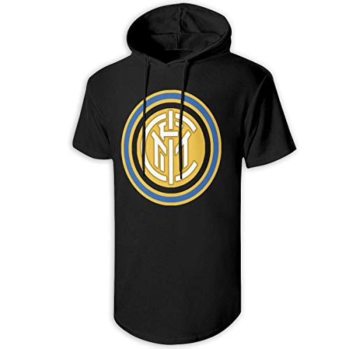 Logo of FC Inter Milan 1963-1979 Pullover Hooded Sweatshirt Short Sleeve Creative Athletic Hoodies for Mens