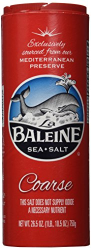 La Baleine Coarse Sea Salt, 26.50 ounce each (Pack of 2), flavor taste coarse