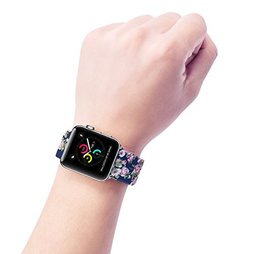 Large Product Image of Floraler Sport Band For Apple Watch 38mm, 2 S/M