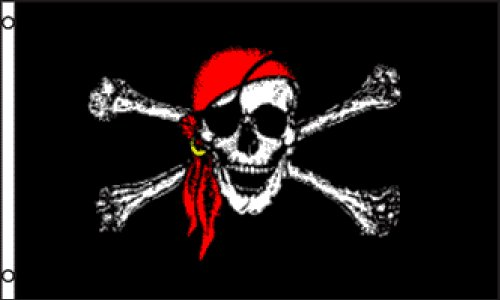 Nylon Pirate Flag - 6