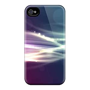 JpWjwHA8274VXZjO Case Cover Protector For Iphone 4/4s Light Beams Case