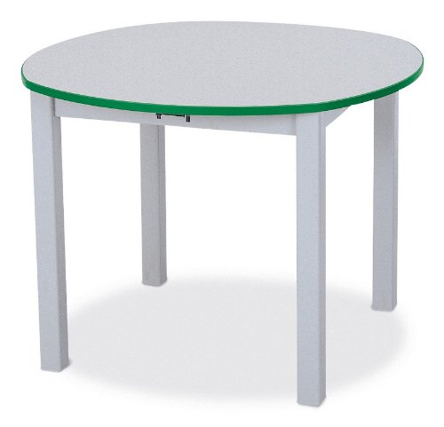 Jonti-craft Round Table 22/Yellow by Jonti-Craft