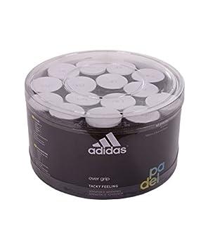 adidas Pádel OV - Caja overgrip, Color Blanco, Talla única: Amazon.es: Deportes y aire libre