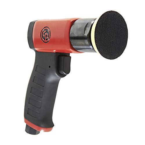 (Chicago Pneumatic CP7201 Mini Polisher - Hand Tool with Two Finger Progressive Throttle - Polishers and Buffers)