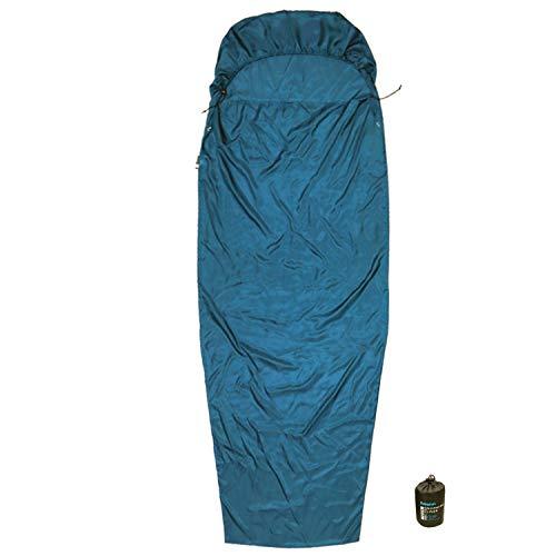 Browint Silk Sleeping Bag Liner, Silk Sleep Sack, Extra Wide 87