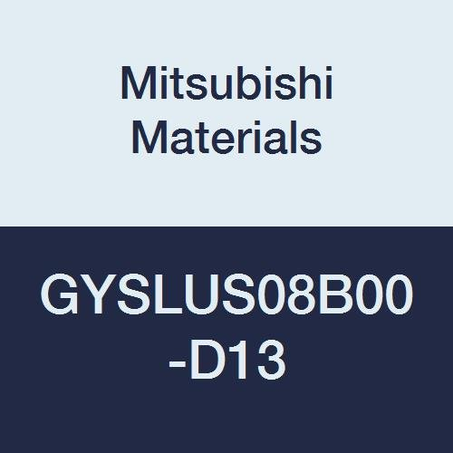0.500 Width 0.079//0.088 Seat 0.512 Grooving Depth 0.500 Height 4.500 Length Left 0/° Angle Mitsubishi Materials GYSLUS08B00-D13 GY Mono Block External Grooving Holder for Small Lathe