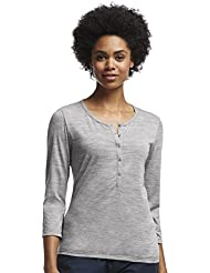 Icebreaker Tech Lite 3/4 Sleeve Henley Shirt, Lightweight, Soft, Merino Wool Knit