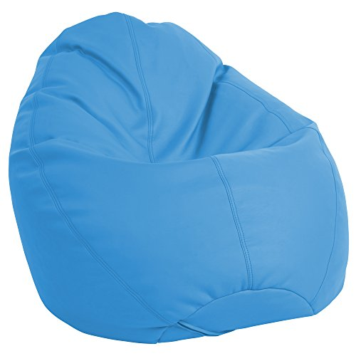 (ECR4Kids Dew Drop Bean Bag Chair, French Blue)