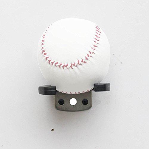 YYST One Baseball Softball Display wall Mount Display Wall Rack Wall Holder - NO BALL