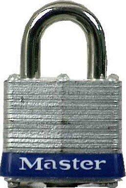 Universal Pin Padlock - 3UP Universal Pin Laminated Padlock, 1, Silver
