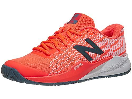 New Balance Women's 996v3 Hard Court Tennis Shoe, Orange, 11 D US