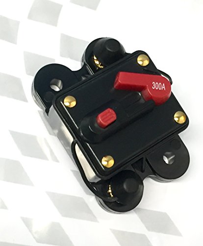 ASC Audio 300a 12v Dc Circuit Breaker Replace Fuse 12vdc 300 Amp Manual Reset