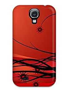 High Impact Dirt/shock Proof Case Cover For Galaxy S4 (curly Woman Vector)