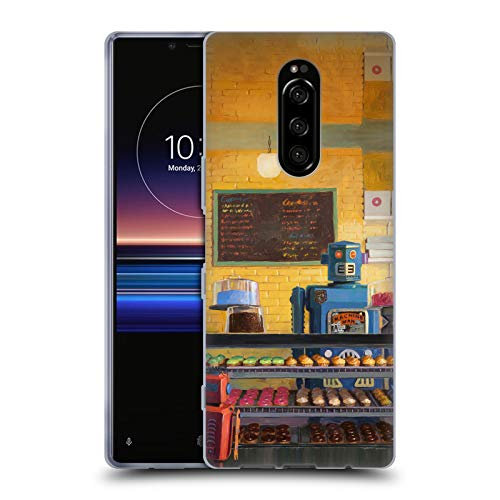 Official Eric Joyner Indecision Robo Shop Soft Gel Case for Sony Xperia XZ4 / One