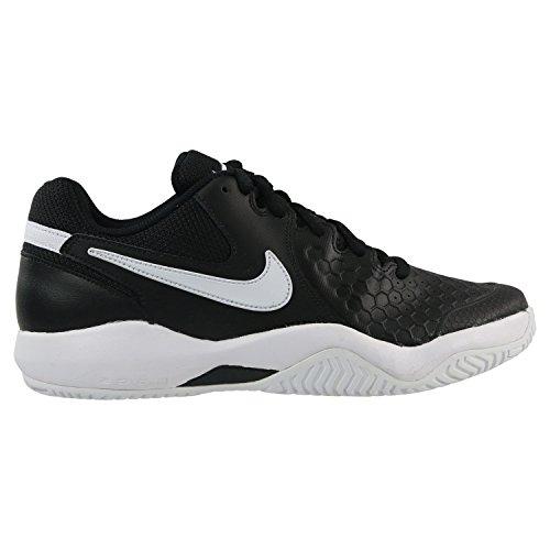 Venta barata por menos de $ 60 Zapatos De La Resistencia Del Aire Zoom Tenis Nike Hombres Negro / Blanco Comprar barato 2018 vNs8kS