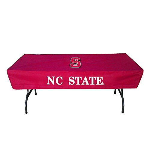 Rivalry Sports College Team Logo NC State 6 Foot Table Cover