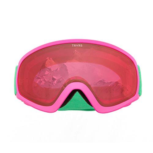 Goggles Traverse - Retrospec Traverse Sports Iris Youth Ski Snowboard & Snowmobile Goggles