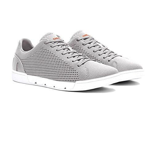 Swims Sneaker Breeze Tennis Knit 21285 573 Light Gray ss18