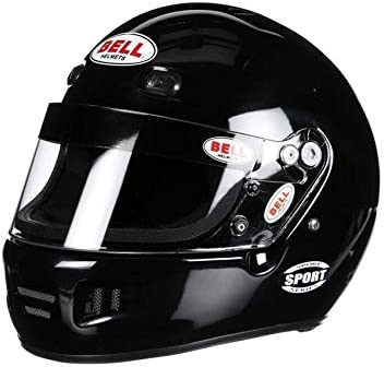 Bell Sport SA2015 Racing Helmet, White, Size Small