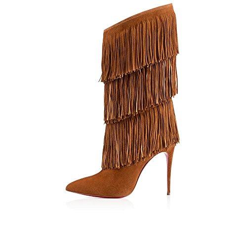 Longitud zapatos DYF botas tac de mediana UTdzdwxn